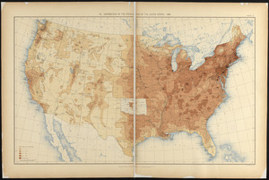 Distribution of the population of the United States