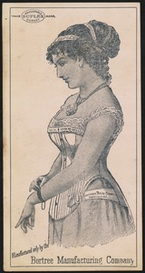 Adjustable Duplex Corset. Manufactured by the Bortree Manufacturing Company.