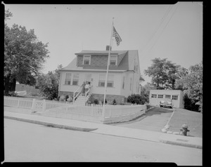 Henry Hutchings' house, 136 Laurie Ave, West Roxbury, Mass