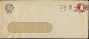Envelope from Forest Hills Cemetery