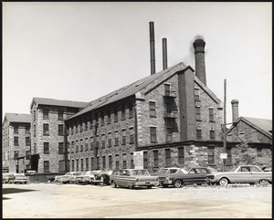 Everett Mill, formerly Essex Company machine shop and foundry (built before 1853)