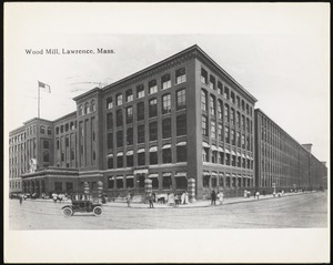 Wood Mill, Lawrence, Mass.