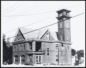 Ames St. fire station
