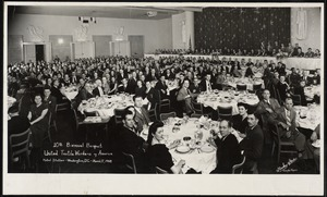 10th Biennial Banquet. United Textile Workers of America. Hotel Statler - Washington, D.C. - March 17, 1948