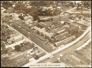 Aerial view of the Bolta Company