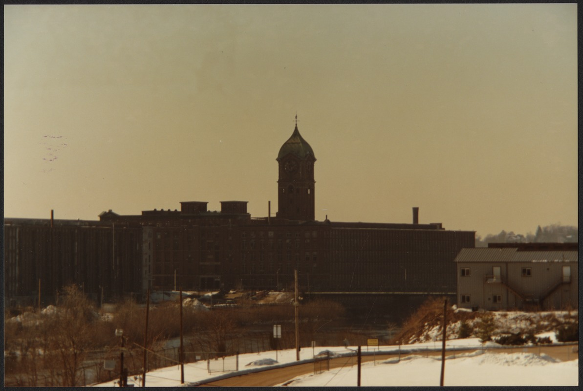 Ayer clock tower, Lawrence, Mass.