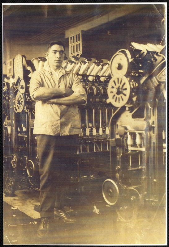 [Joes]eph Miceli (also spelled Micieli) worked in the textile mills