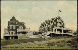 Robins Spring Hotel and annex, east front, Arlington Heights, Mass.