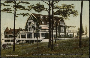 Arlington Heights, Mass. Robbins Spring Hotel
