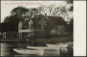 Arlington Boat Club, Arlington, Mass.