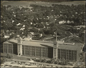 Aerial view of the Olympia Mills plant of the Pacific Mills, Columbia, S.C.