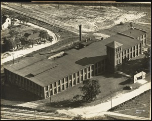 Aerial view of the Capitol City Mills plant of the Pacific Mills, Columbia, S.C.