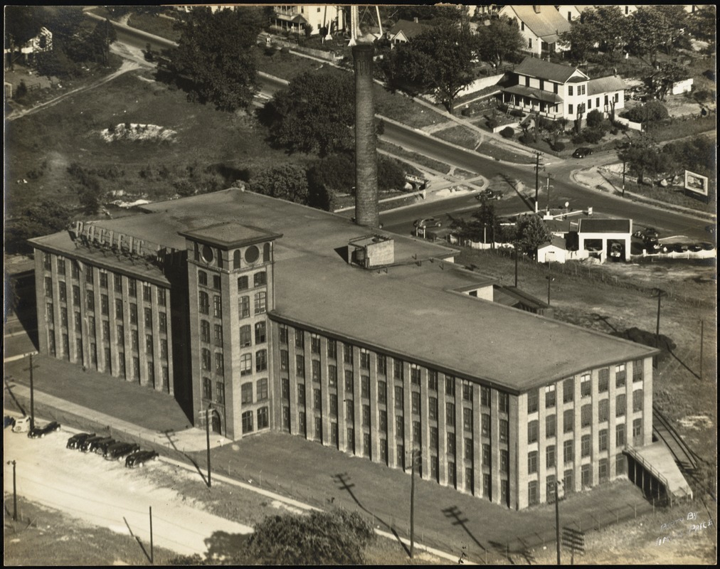 Aerial view of the Richland Mills plant of the Pacific Mills, Columbia, S.C. [graphic]