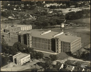 Aerial view of the Granby Mills plant of the Pacific Mills, Columbia, S.C. [graphic]