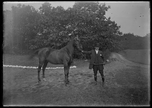 Horse and handler