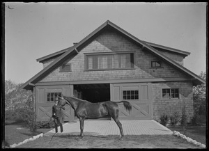 Riding horse - handler - Mrs. Skeel's stable. 7 Gates