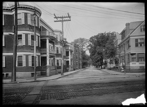 Pond Street. Jamaica Plain, Massachusetts