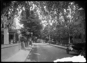 Jamaica Plain, Massachusetts. Greenough Avenue