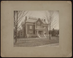 Hunnewell Club photographs - Hunnewell Club from Eldredge Street -