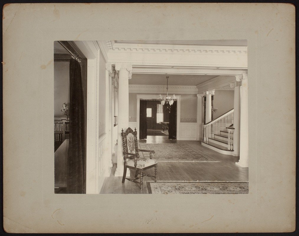Hunnewell Club photographs - Hunnewell Club Main Hall -