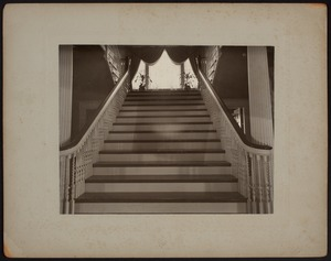 Hunnewell Club photographs - Main Stairway -