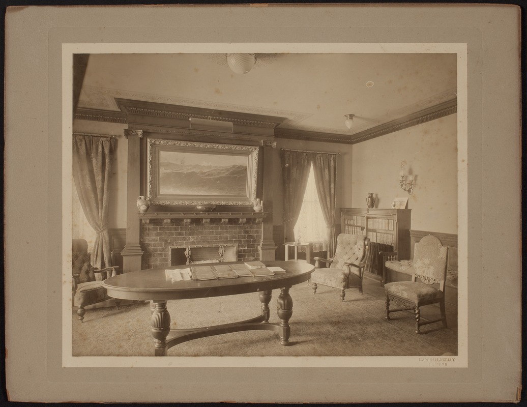 Hunnewell Club photographs - Study -