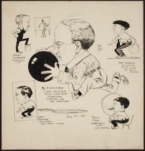 Hunnewell Club photographs - Hunnewell Club Caricatures -