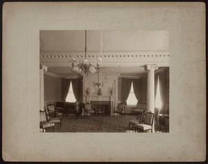 Hunnewell Club photographs - Ladies Parlor -