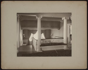 Hunnewell Club photographs - Top of Main Stairway -
