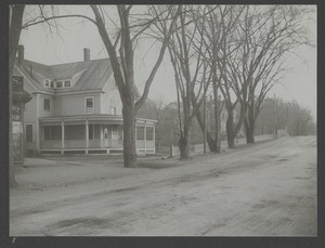 Newton Engineering Department Photos - Cypress Street Near Centre Street -