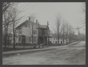 Newton Engineering Department Photos - Cypress Street Near Paul Street Looking North -