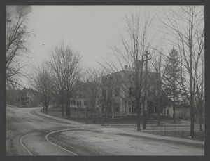Newton Engineering Department Photos - Cypress Street from Braeland Avenue Looking South -