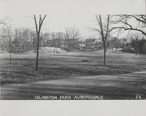 Newton Forestry Department Photographs, 1908-1918 - Islington Park - Auburndale -