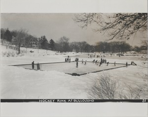 Newton Forestry Department Photographs, 1908-1918 - Hockey Rink at Bulloughs -