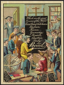 Which are the greatest powers of the world? United States of North America, Britain, France, Germany, Russia, Austria, Italy and Bovril