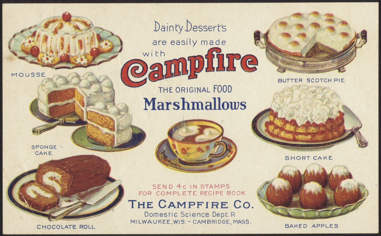 Dainty desserts are easily made with campfire marshmallows the dainty desserts are easily made with campfire marshmallows the original food forumfinder Gallery