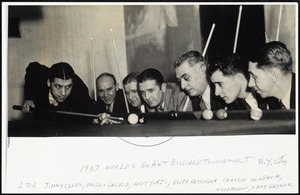 1937 World's pocket billiard tournament