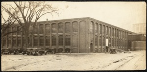 Pacific Mill weave shed, scene of auto show Feb. 1932