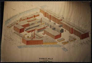 Map of Everett Mills