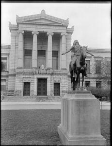 """Appeal to the Great Spirit"" statue, Museum of Fine Arts, Boston, Mass."