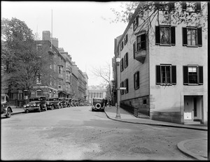 57–59 Mt. Vernon Street, 57 was home of Charles Francis Adams, 59 was home Thomas Bailey Aldrich, Beacon Hill