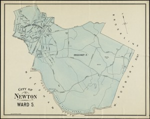 Maps of the Wards of Newton