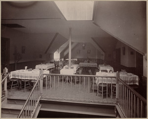 Lunch room.