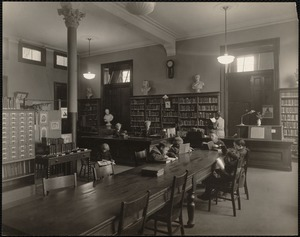 Fellowes Athenaeum Branch of the Boston Public Library, possibly children's room