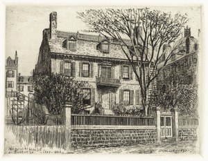 Hancock House - Beacon St. - 1737-1863