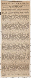 Letter from Thomas Drew, Boston, to Samuel May, Sept. 16, 1881