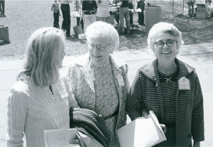 Abby Kemper, Marguerite Hearsey, Frances Ladd