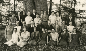 Abbot Faculty under the Old Oak