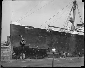 USS Leviathan, dry dock, South Boston