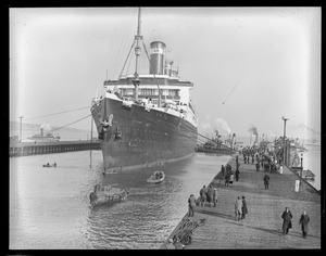 SS Leviathan - dry dock South Boston